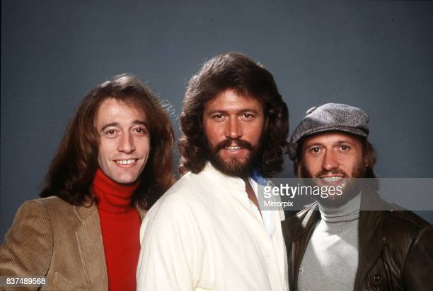 Bee Gees singers all three are brothers and sing in a pop group