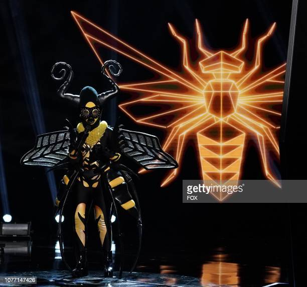 Bee in the New Masks on the Block episode of THE MASKED SINGER airing Wednesday Jan 9 on FOX