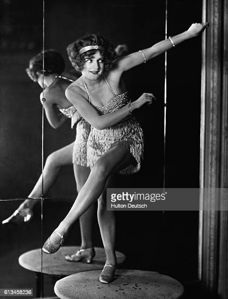 Bee Jackson the World Champion of the 1920s dance craze 'The Charleston'
