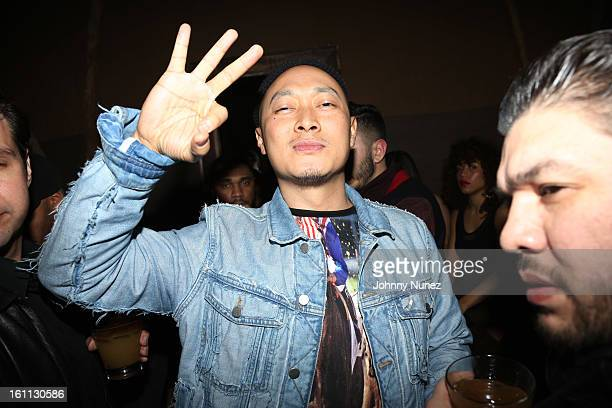 """Bee Nguyen attends the after party for """"An Evening Celebrating Nas,"""" presented by Hennessy VS at Hyde Lounge on February 8 in West Hollywood,..."""