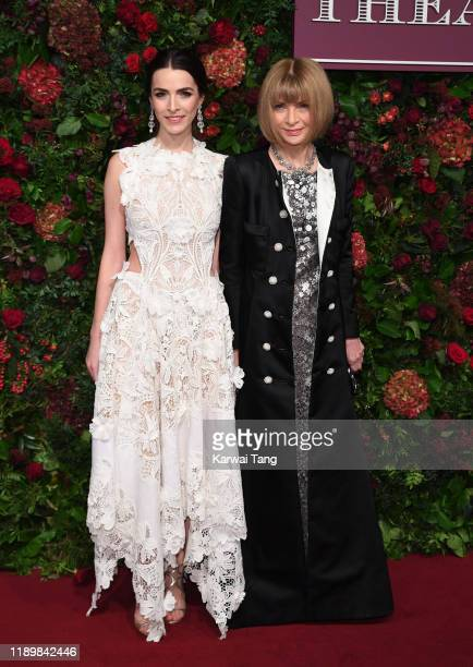 Bee Shaffer and Anna Wintour attend the 65th Evening Standard Theatre Awards at London Coliseum on November 24, 2019 in London, England.