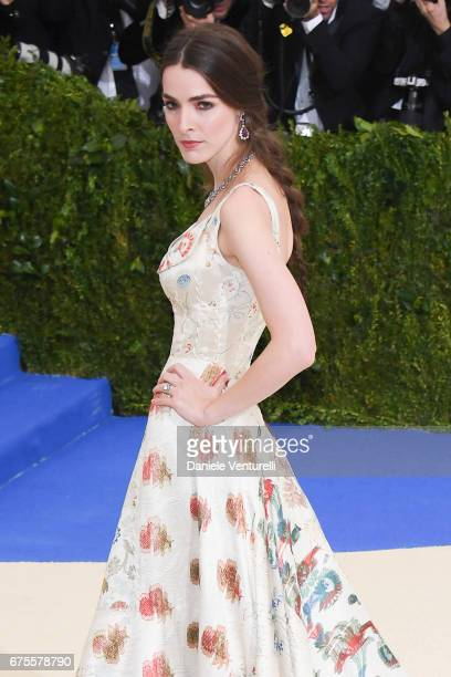 Bee Shaffer attends 'Rei Kawakubo/Comme des Garcons Art Of The InBetween' Costume Institute Gala Arrivals at Metropolitan Museum of Art on May 1 2017...