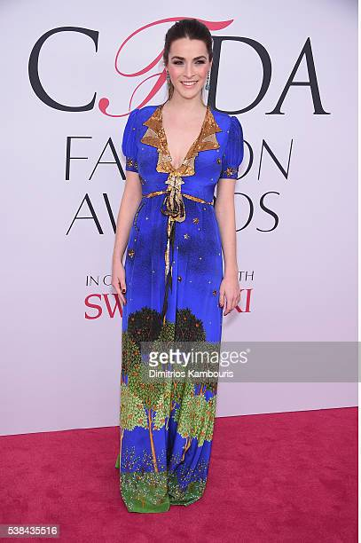 Bee Shaffer attends the 2016 CFDA Fashion Awards at the Hammerstein Ballroom on June 6 2016 in New York City
