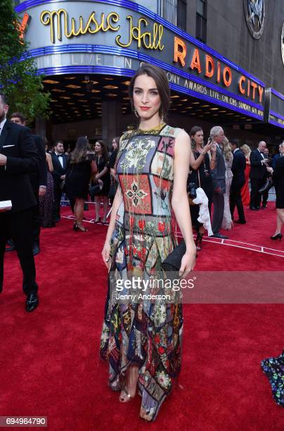 Bee Shaffer attends the 2017 Tony Awards at Radio City Music Hall on June 11 2017 in New York City