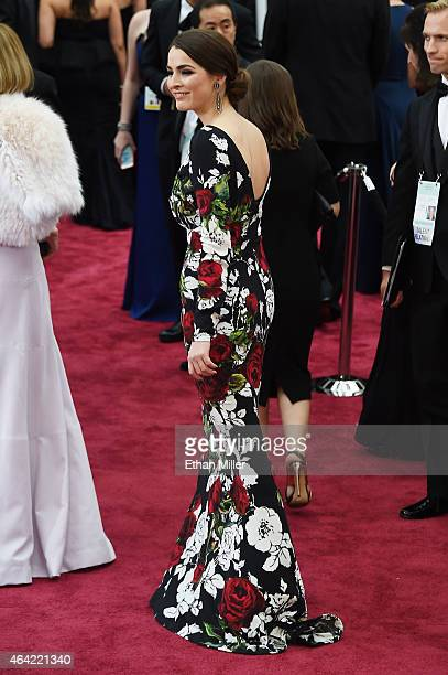 Bee Shaffer attends the 87th Annual Academy Awards at Hollywood Highland Center on February 22 2015 in Hollywood California