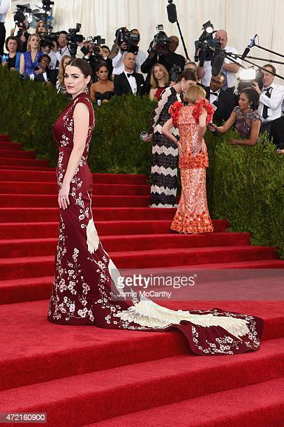 """Bee Shaffer attends the """"China: Through The Looking Glass"""" Costume Institute Benefit Gala at the Metropolitan Museum of Art on May 4, 2015 in New..."""