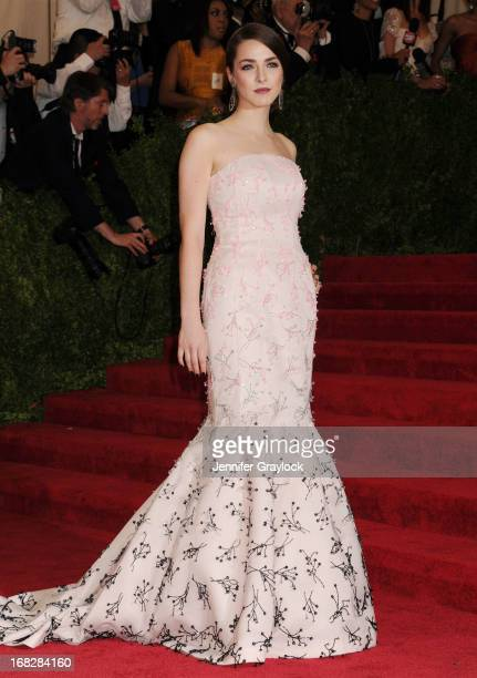 Bee Shaffer attends the Costume Institute Gala for the 'PUNK Chaos to Couture' exhibition at the Metropolitan Museum of Art on May 6 2013 in New York...