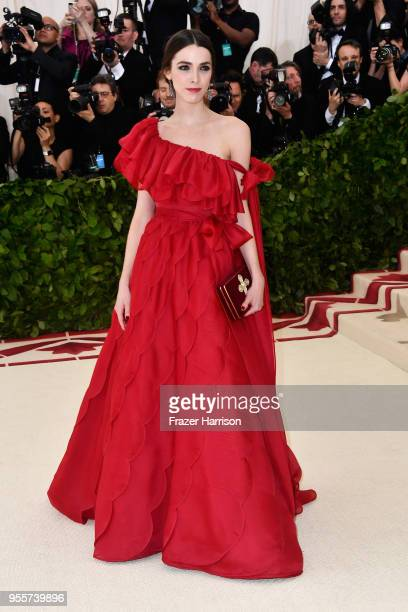 Bee Shaffer attends the Heavenly Bodies Fashion The Catholic Imagination Costume Institute Gala at The Metropolitan Museum of Art on May 7 2018 in...
