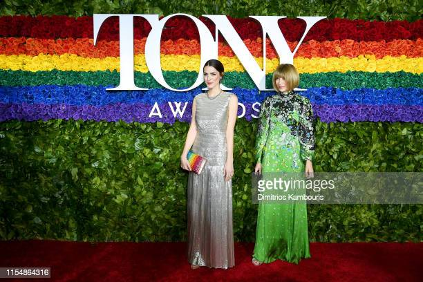 Bee Shaffer Carrozzini and Anna Wintour attend the 73rd Annual Tony Awards at Radio City Music Hall on June 09, 2019 in New York City.
