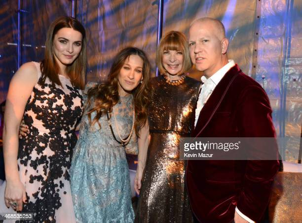 Bee Shaffer Sarah Jessica Parker EditorinChief at American Vogue Anna Wintour and Ryan Murphy attend The Great American Songbook event honoring Bryan...