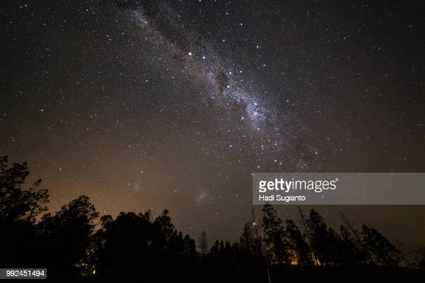 Beechworth Historic Park at night
