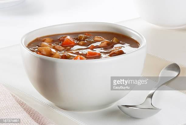 Beef and vegetables soup