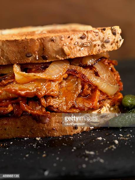 Barbecue-Rinderbrust-Sandwiches