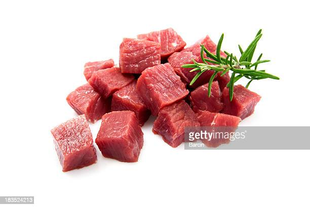 beef cubes - part of stock pictures, royalty-free photos & images