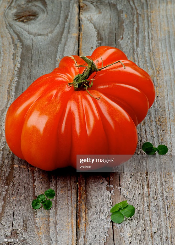 Beef Heart Tomato : Stock Photo