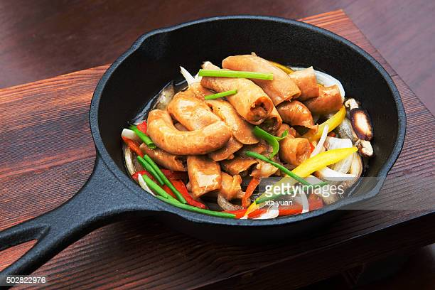 Beef Intestine and Onion Ragout