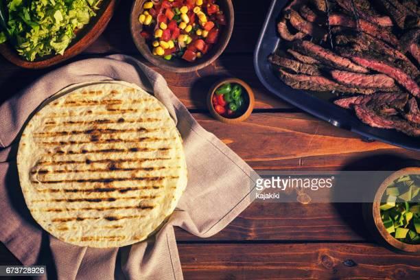 Tacos de viande de boeuf