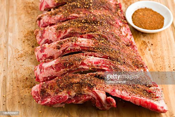 Beef Ribs And Dry Rub