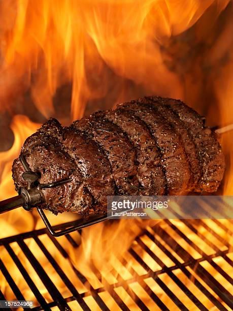 Beef Roast auf dem Grill