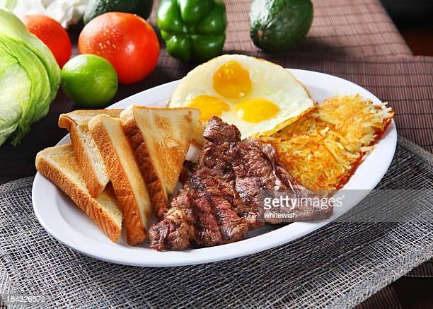 Beef Steak & Egg