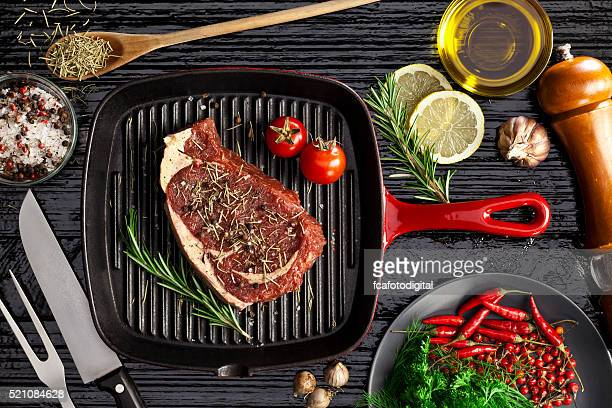 Beef steak fillet