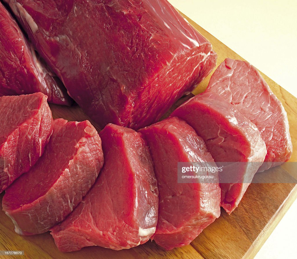 beef steak RAW : Stock Photo