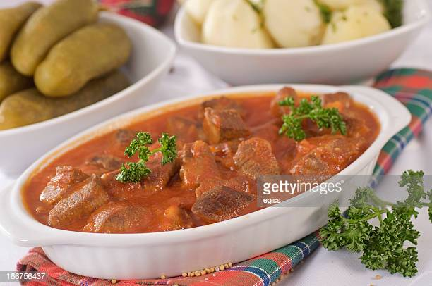 beef stroganoff - flat leaf parsley stock pictures, royalty-free photos & images