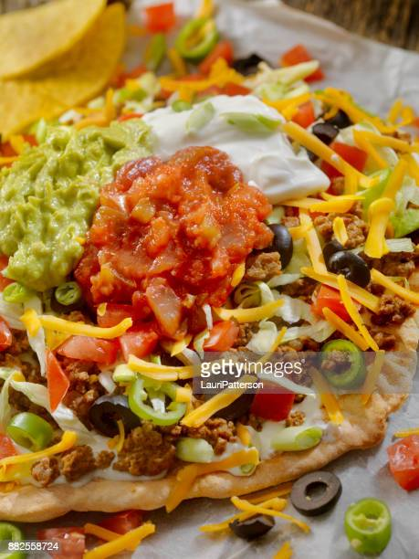 Beef Taco Salad Pizza
