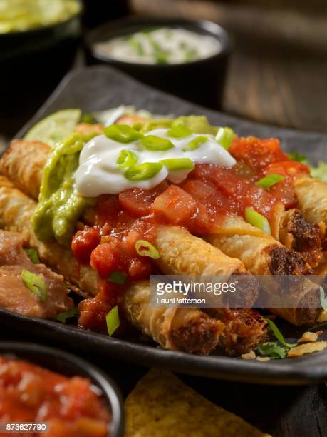 Beef Taquito Platter