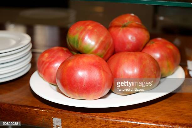 beef tomatoes - bavosi stock pictures, royalty-free photos & images