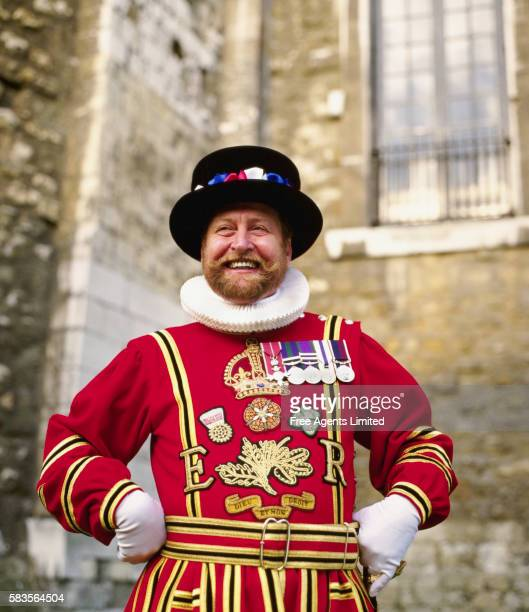 Beefeater at Tower of London
