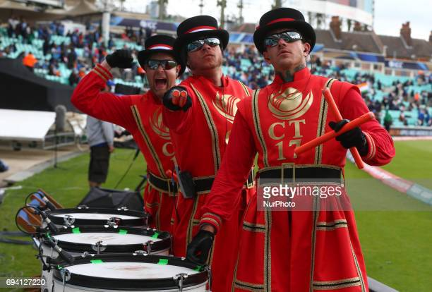 Beefeater during the ICC Champions Trophy match Group B between India and Sri Lanka at The Oval in London on June 08 2017