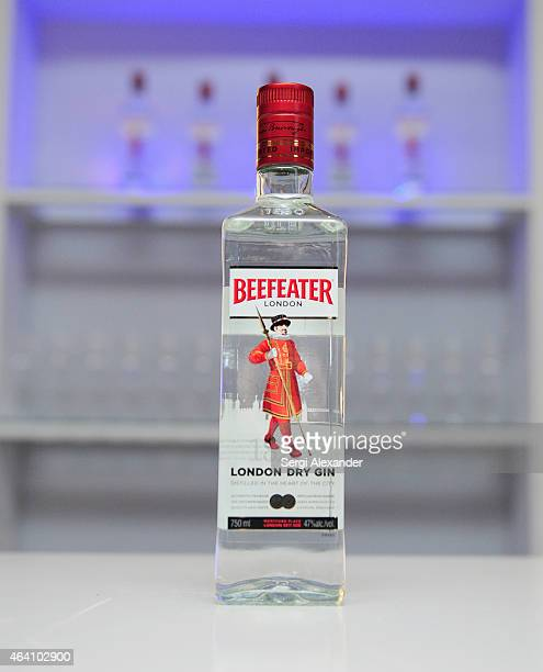 Beefeater on display at the Tribute Dinner honoring Juan Mari Arzak and Ted Baseler hosted by Jose Andres and Master of Ceremonies Harold McGee...