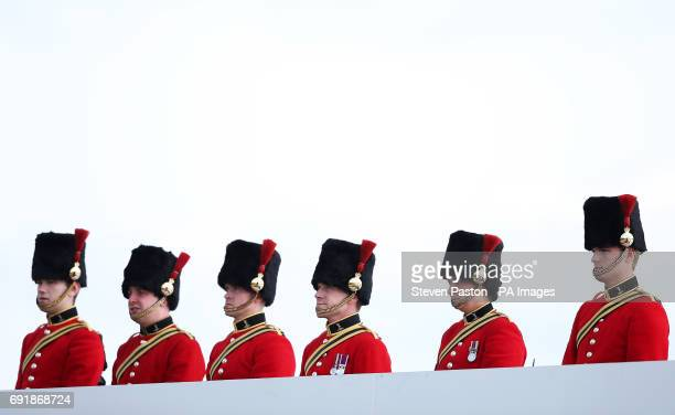 Beefeaters on Derby Day of the 2017 Investec Epsom Derby Festival at Epsom Racecourse Epsom
