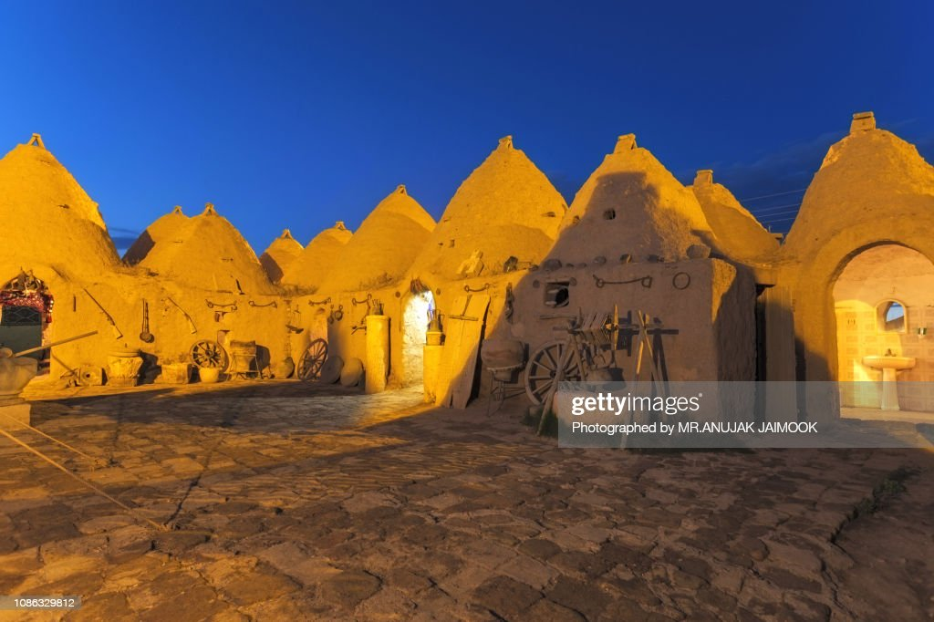 Beehive house at Harran, Turkey : Stock Photo