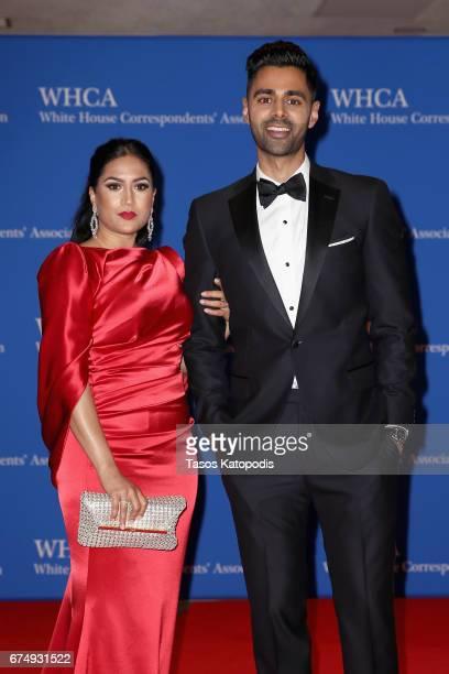 Beena Minhaj and host, comedian Hasan Minhaj attend 2017 White House Correspondents' Association Dinner at Washington Hilton on April 29, 2017 in...