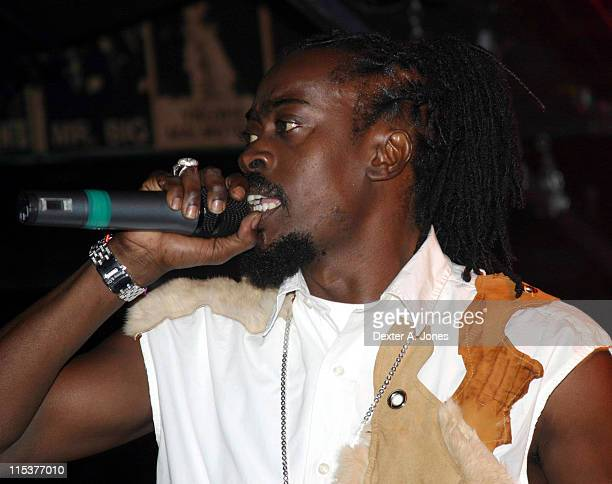 Beenie Man during Beenie Man Performs at Toads Place October 12 2004 at Toads Place in New Haven Connecticut United States