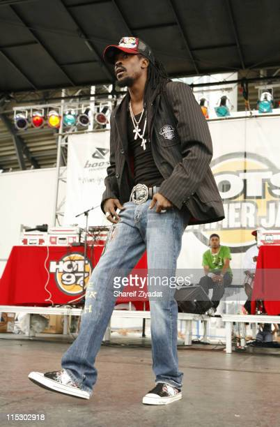 Beenie Man during HOT 97 Summer Jam 2006 at Giants Stadium in East Rutherford New Jersey United States