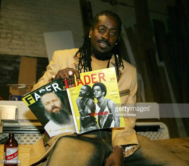 Beenie Man during The Fader Presents King Clash Featuring Beenie Man And Tego Calderon at Volume in Brooklyn New York United States
