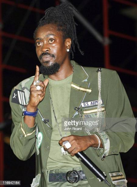Beenie Man during VP Records Memorial Weekend Concert May 29 2005 at Bayfront Park in Miami Florida United States