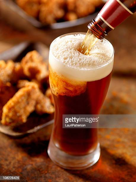 ビールや手羽