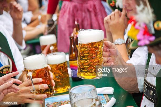 Beer at Oktoberfest