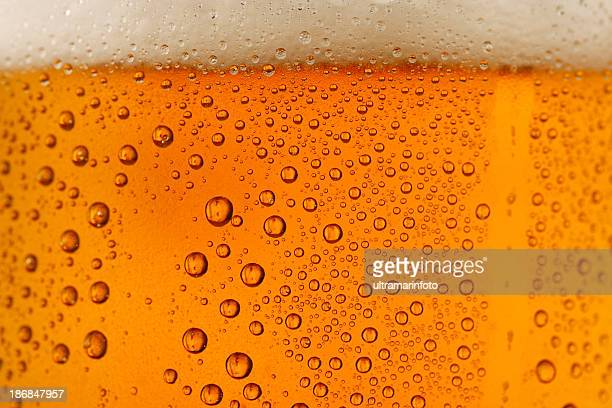 Bier im Hintergrund