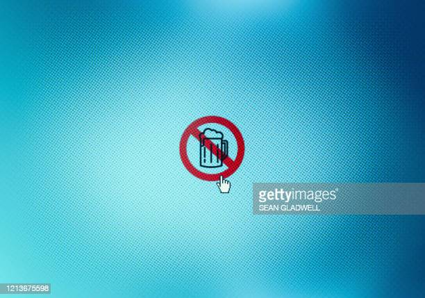 beer ban - permission concept stock pictures, royalty-free photos & images