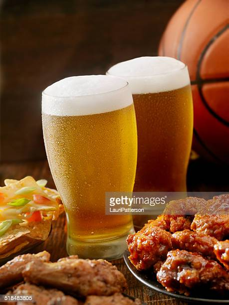 Beer, Basketball and Wings