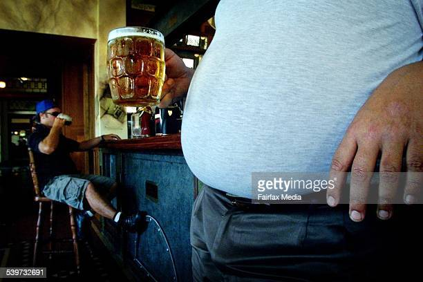 Beer Belly Rats may have the answer to fat guts 1 November 2000 NCH Picture by SIMONE DE PEAK