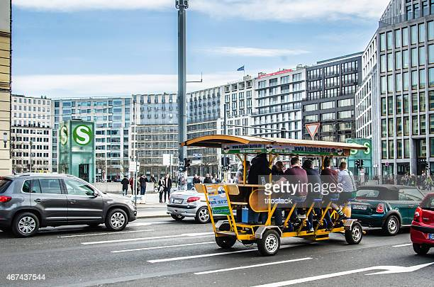 beer bike - pedal stock pictures, royalty-free photos & images