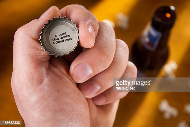 Beer Bottle Cap Message