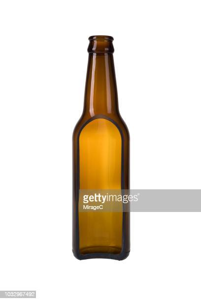 beer bottle cross section - brown stock pictures, royalty-free photos & images