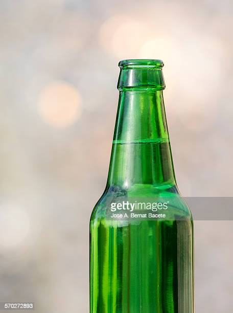 Beer bottle daylight